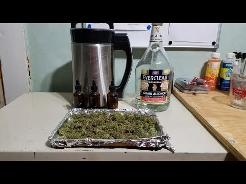 DIY –  Cannabis Infused Alcohol Tincture