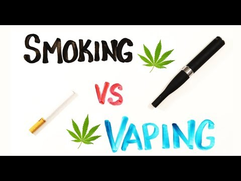 5 Reasons Vaping Cannabis is Better Than Smoking Weed