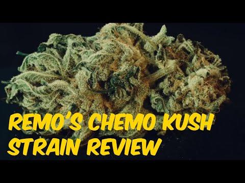 Remo's Chemo Kush Cannabis Marijuana Weed Strain Review