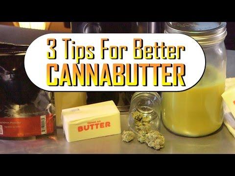 3 Tips to Make Better Cannabutter: Marijuana Tips & Tricks