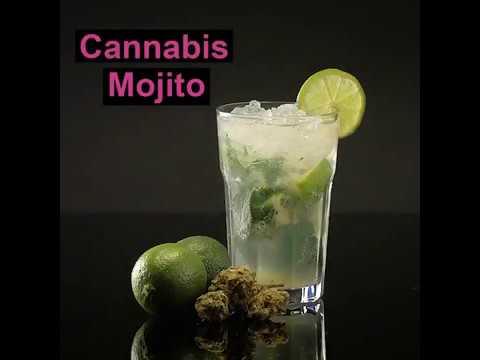 Cannabis infused Mojito – cannadish