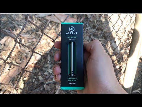 Alpine Disposable Vape Pen Review