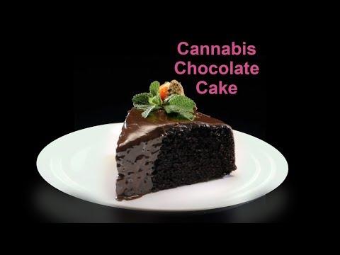 Cannabis Chocolate Cake