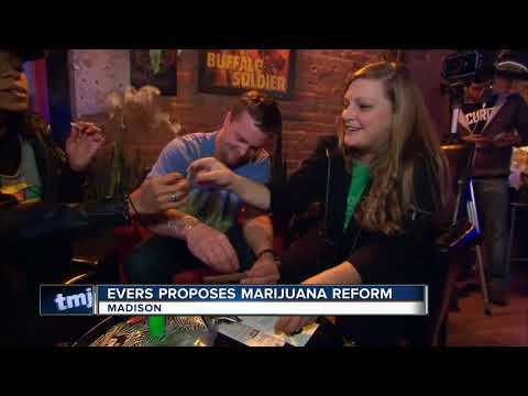 Gov. Tony Evers announces proposal to reform Wisconsin's marijuana laws