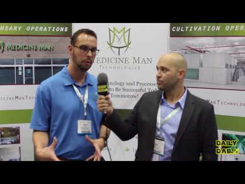 Medicine Man Technologies with Founder Andy Williams  Los Angeles Cannabis Business Expo