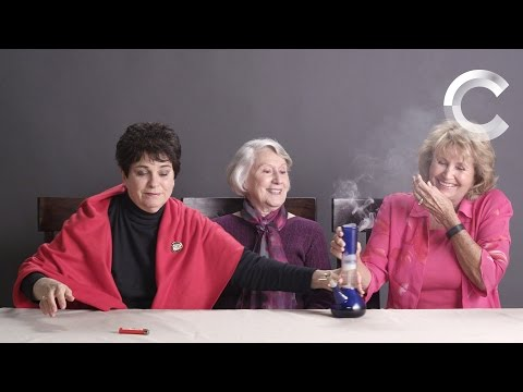 Grandmas Smoking Weed for the First Time | Strange Buds | Cut