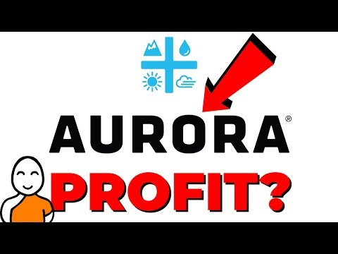 💚 AURORA CANNABIS STOCK SPIKES ❗ FIRST MARIJUANA STOCK TO PROFIT 💚