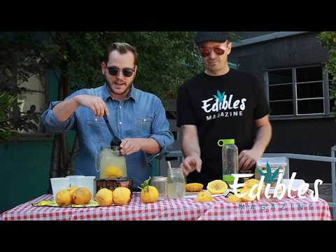 Cannabis Infused Lemonade