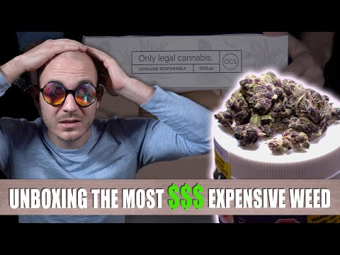 "Unboxing LEGAL Canadian Weed #2: ""DID THE QUALITY IMPROVE?!"""