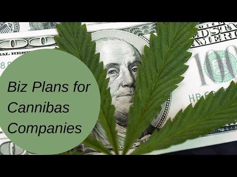 Writing Business Plans for the Cannabis Industry
