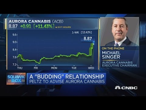 Aurora Cannabis chair talks Peltz appointment and the future of the cannabis industry
